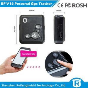 China Key chain personal gps tracker kids old people reachfar rf-v16 on sale