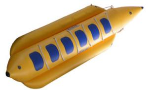 China inflatable banana boat for sale on sale