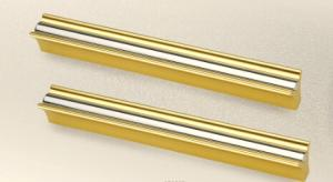 China golden furniture handle, cabinet knob, long cabinet handle, furniture fitting, aluminum handle, 128mm, 96mm on sale