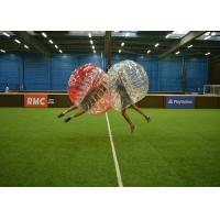 High Tensile Strength Inflatable Bubble Soccer Customize Size International Standard