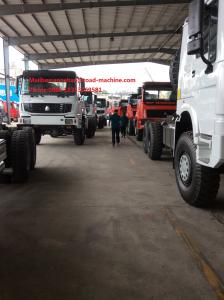 China Capacity 25 - 40 Tons Heavy Cargo Trucks Chassis SINOTRUK HOWO ZZ1257N4641W TR691 Tyre on sale