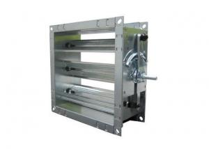 China Stainless Steel Duct Isolation Dampers , Industrial Desulfurization Baffle Door on sale