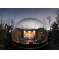 Hotel Clear PVC Inflatable Bubble Tent 4m Diameter With Blower