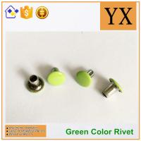 Youxin hardware Flat round rivets used in apprael Trade gloden supplier