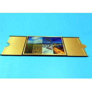 Quality Hardcover Book Printing Services with Golden Edge Sewing Binding 210mm x 297mm for sale
