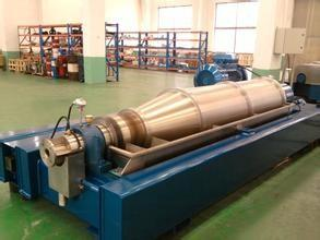 China GEA Drilling Fluid Solid Separating Centrifugal Water Oil Separator ISO9001 OEM Certification on sale