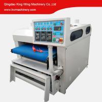 KC1000-3R Wood grain making wire brush machine for wooden table floor door