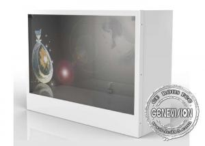 China HD 32 Inch Transparent Lcd Showcase Advertising Player For Cloth Store / Shopping Mall on sale