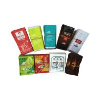 Side Gusseted Mini Plastic Packaging Pouch Foil Metalized Organic Tea Bags
