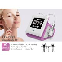 Fractional RF Micro Needle Machine Pinxel Radio Frequency For Wrinkle Removal Skin Tightening