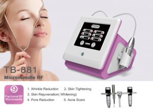 China Fractional RF Micro Needle Machine Pinxel Radio Frequency For Wrinkle Removal Skin Tightening on sale