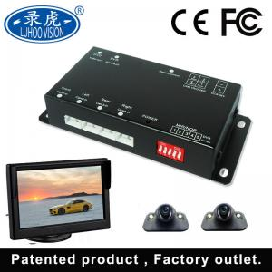 China HD 1080P 720P 4 Channel Car DVR Recorder Automatically Display Screen on sale