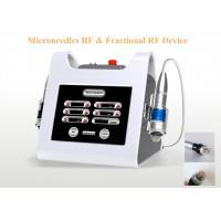 Fractional RF Microneedle Machine / Anti Wrinkle Stimulate Collagen Cells RF Machine