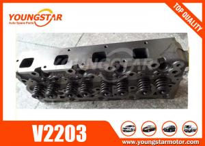 China Excavator Auto Cylinder Heads Assy For Kubota 01907-703040 V2203  V2203-M   1907-703048 on sale