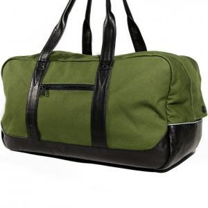 China Army green 2OZ canvas messenger bags /  mens Cotton canvas shoulder bag on sale