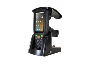 China All In One UHF Android RFID Reader Hand Barcode Scanner For Financial Management on sale
