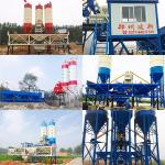 High efficiency low price hzs35 mini concrete batching plant for sale