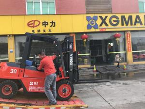 China Hydraulic Transmission Paper Industrial DieselForklift Truck on sale