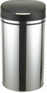 China Hotel Kitchen House Stainless Steel Sensor Dustbin 42 L  Garbage Can on sale