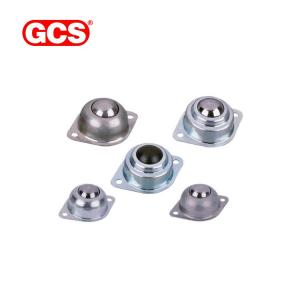 China Heavy duty GCS-PC254SS ball transfer unit univBearing Steel Universal ball Bearing Steel Base Mounted Ball Transfer Unit on sale