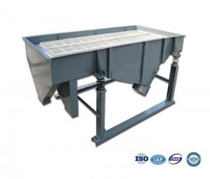 China 1-5 layers High Frequency  Food grade stainless steel linear vibrating screen machine with magnet on sale