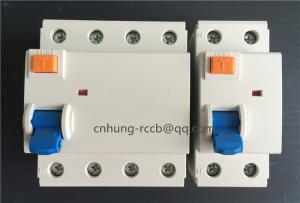 China ID Residual Current Circuit Breaker 2 / 4 Pole Thermal Magnetic Circuit Breaker on sale