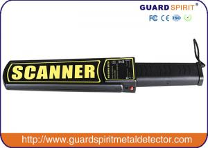 China Light Portable Metal Detector Handheld For Testing Weapon And Gun , 25pcs / Carton on sale
