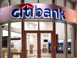 China 3D LED Day-Night Back-lit Acrylic Signs With Mirror Polished Letter Shell  For CitiBank on sale