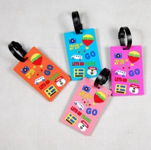China 2018 New Hot Product Custom PVC Luggage Tag for passport holder on sale