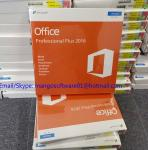 Global Area Microsoft Office Professional 2016 Product Key , Office 2016 Retail Key DVD Box