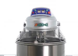 China Commercial Automatic Dough Mixer Stainless Spiral Flour Mixer Blender Machine on sale
