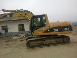 China 320C used caterpillar excavator hammer machines south-africaCape Town nigerNiamey nigeri on sale