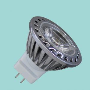 China 60Hz MR11 220v 230v Silver LED Spot Lamp 6500k 3000k , 1 Watt Energy Saving Lamp on sale