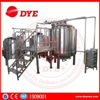 China Energy Efficient Beer Making Machine Home Brew Equipment PLC Or Touch Screen on sale