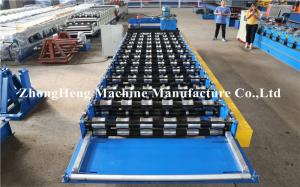 China Roofing And Wall R Shape Roll Forming Machine With Fast Speed , Roll Forming Line on sale
