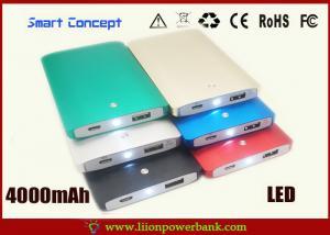 China Batería de la célula del polímero del paquete de alimentación externa del estilo del libro con la linterna on sale