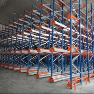 China Warehouse Mobile Radio Shuttle Racking System Automation Material Handling on sale