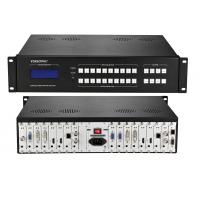 China Hybrid Seamless Matrix Switcher 100-260V 50/60Hz Audio Breakaway Switching on sale