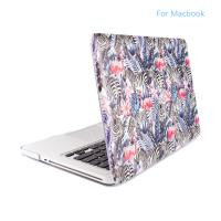 Print design zebra and egrets abstract pattern PC case for Macbook, Laptop for Notebook Case shell