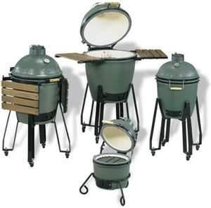 China heatproof ,non-toxic Ceramic kamado bbq pizza Oven green egg large grill for bbq on sale