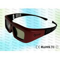 Cool design Powerful Cinema IR Active shutter adult 3D glasses GT100, red iron color