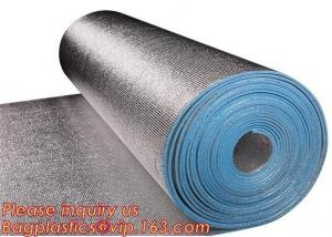 China Aluminum Foil Coated EPE Foam Thermal Insulation PE Embroidery Trick Film on sale