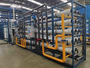 China 20T/H Industrial RO Pure Water Treatment Systems For Drinks And Alcohol on sale