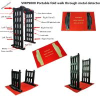 M- Scope Walk Through Metal Detector Door Frame For Supermarket / Airport
