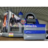 Star War Inflatable Bouncy Castle / Theme Bouncer House with Logo Printing