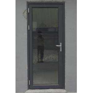 China Cheap double clear glass aluminium casement door on sale