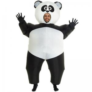 China Inflatable Panda Costumes Halloween Party Suit Fat Blow Up Balloon Adult Funny on sale