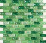 Teja de mosaico de cristal del agua greening de la primavera que agita para la fuente