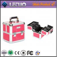 LT-MC433 Cosmo Pink Croc Makeup Case beauty  make up cosmetic case