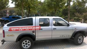 Quality fiberglass truck canopy for D22 2001-2010, Bed Interior Size 1395*1390*430mm for sale